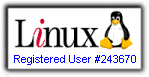 Registered Linux User #243670