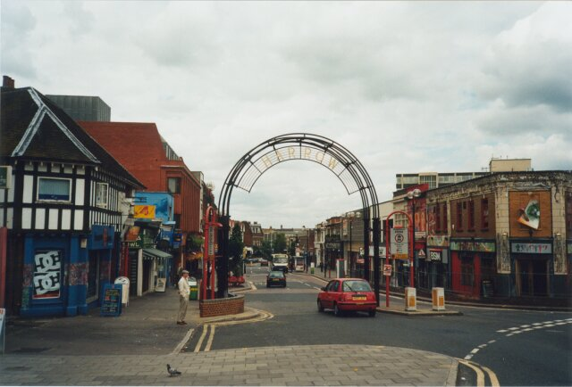 Harrow, England, the town near London where I was born and lived for 7